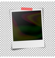 instant photo frame photorealistic vector image