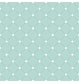 White and black veil seamless pattern on turquoise vector image