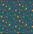 a simple floral pattern convenient for editing vector image
