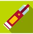 Big flashlight icon flat style vector image vector image