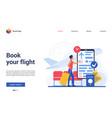 book flight website interface