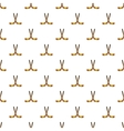 Hockey sticks pattern cartoon style vector image vector image