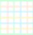 pastel color tartan plaid style colorful seamless vector image vector image