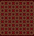 seamless luxury ornamental background red damask vector image vector image