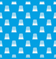 thimble pattern seamless blue vector image vector image