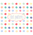 watercolor dots vector image