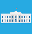 White house vector image vector image