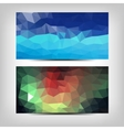abstract background set EPS 10 vector image vector image