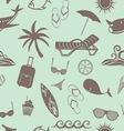 beach patern3 vector image