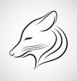 Coyote logo vector image vector image