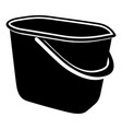 household bucket icon simple style vector image vector image