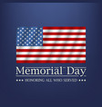 Memorial day honoring all who served text