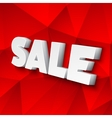 The Word Sale vector image