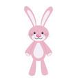 toy bunny icon vector image