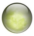 A green ball vector image