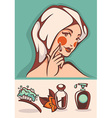 beauty and spa vector image vector image