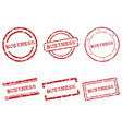 business stamps vector image
