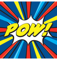 Cartoon pow vector | Price: 1 Credit (USD $1)