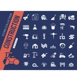 Construction icons collection vector image