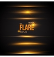 Flare Effect Transparent Overlay vector image vector image