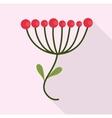 Flower design garden icon Colorfull vector image vector image