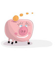 investment and storage of funds vector image