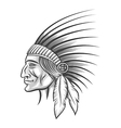 Indian Tribe Leader vector image