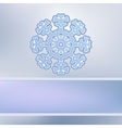 Abstract Christmas background snowflakes EPS8 vector image