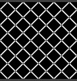 black diamond square on white background seamless vector image