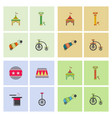 Circus equipment icons