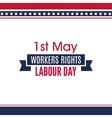 Labour Day background vector image vector image