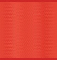 red wool knitwear texture seamless pattern vector image