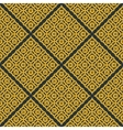 seamless texture with geometric or vector image vector image