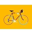 Sport bicycle cartoon vector image