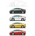 Sportscar vector image vector image