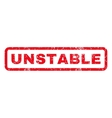 Unstable Rubber Stamp vector image vector image