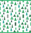 forest pattern vector image vector image