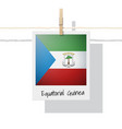 photo of equatorial guinea flag vector image vector image