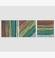set palettes color texture vector image