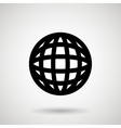 sphere icon design vector image vector image