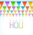 traditional holi festival vector image