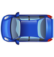 A blue car vector image vector image