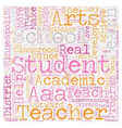 Arts for Academic Achievement Help Students in vector image vector image