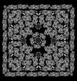 black bandana image vector image vector image