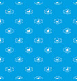 repair pattern seamless blue vector image vector image