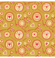 Valentine s Day Seamless Pattern vector image