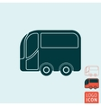 Bus icon isolated vector image