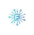 f share letter logo icon design vector image