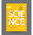 infographic science concept vector image vector image