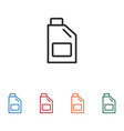 oil jerrycan icon vector image
